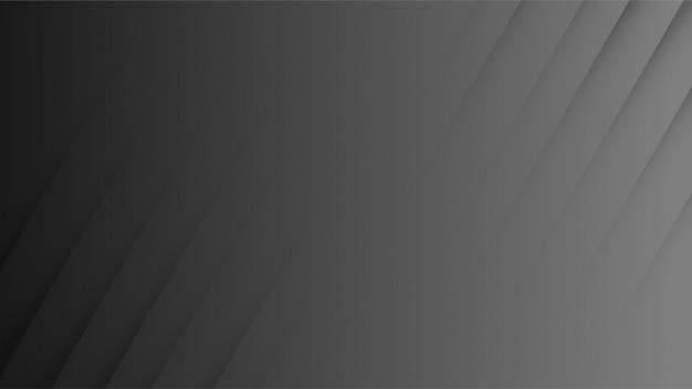 黒の背景デザインには魅力的な影があります。スタイリッシュな黒い紙のスタイル。