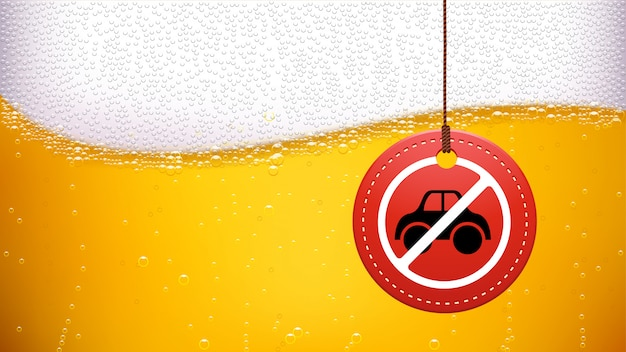 ドライブ禁止の画像