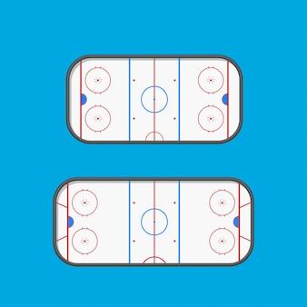 Хоккейные катки