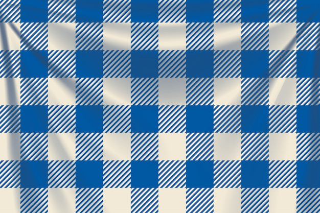 青い正方形の繊維の背景