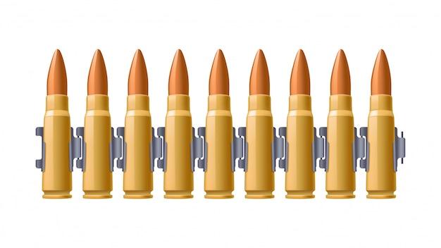 弾丸ベルトの写真