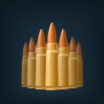弾丸の画像