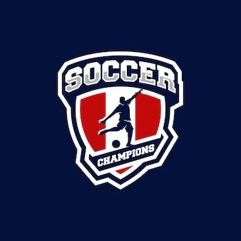 Футбольный логотип