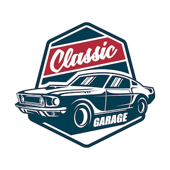 Классический автомобиль винтаж