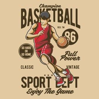 チャンピオンバスケットボール