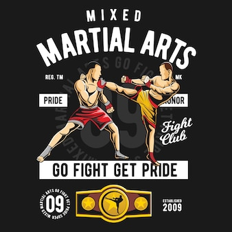 Смешанные боевые искусства