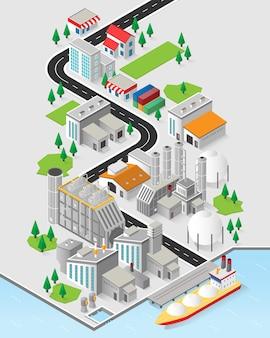 天然ガスエネルギー、等尺性の天然ガス発電所