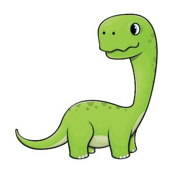 Дино, характер бронтозавра