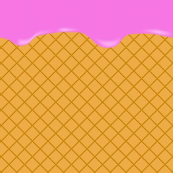 アイスクリームの背景
