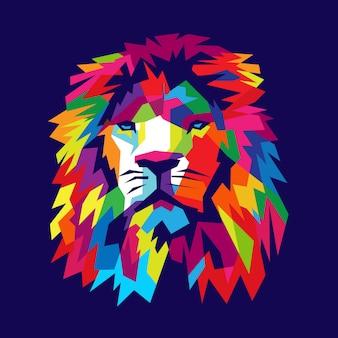 ライオンの図