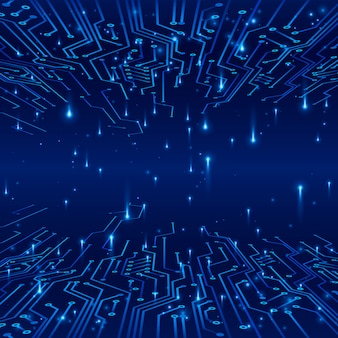 Киберпространство. понятие о футуристическом фоне. треки по схеме и обмен данными в виде сигналов