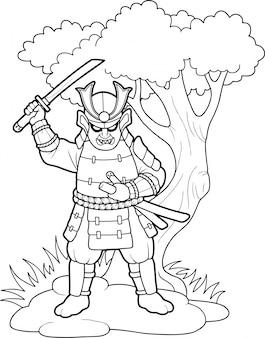 Храбрый самурай