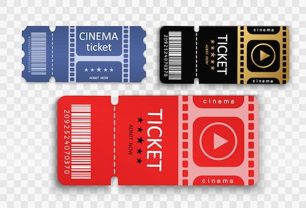 イベントや映画に参加するためのチケット