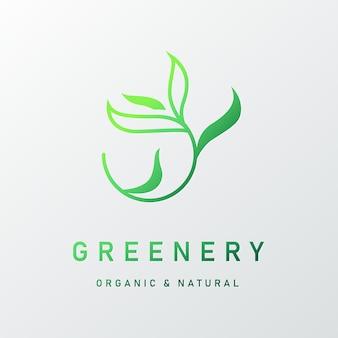 Натуральный дизайн логотипа для брендинга и фирменного стиля
