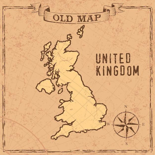 英国の地図