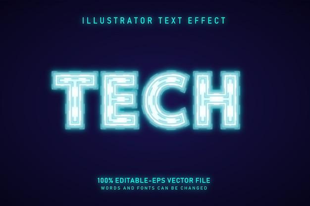 Технический текстовый эффект