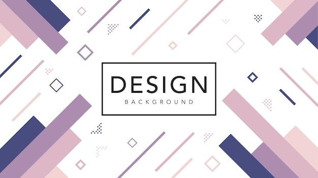 Квадратная форма пастельных цветов фона геометрического шаблона