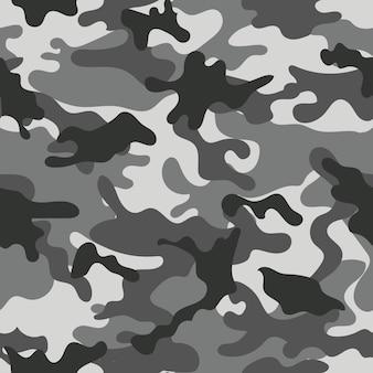 迷彩のシームレスなパターン。ベクトルイラスト