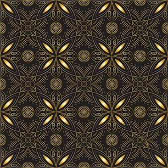 Абстрактный цветочный узор без швов