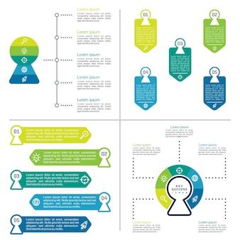 Руководства инфографический шаблон