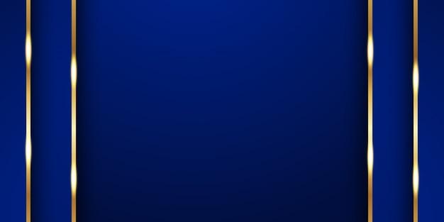 プレミアムインド風の抽象的な青い背景。