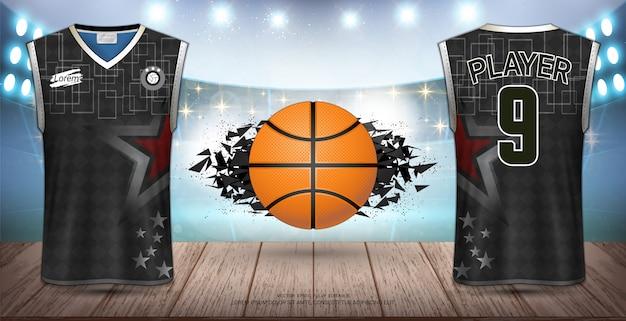 バスケットボールユニフォーム