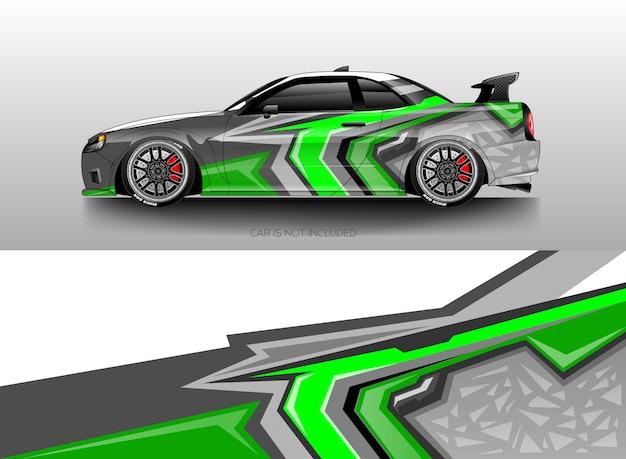 Автомобильная пленка дизайн вектор