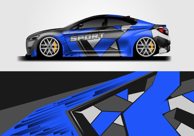 Автомобильная наклейка дизайн