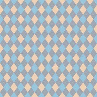 レトロなスタイルのデザインのシームレスなパターン。