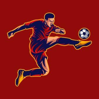 Футболист вектор