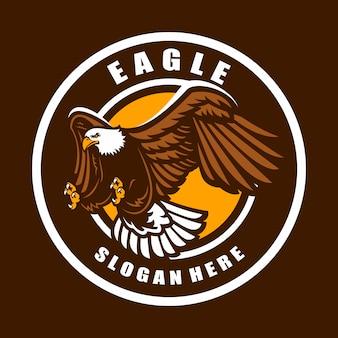 スポーツチームのイーグルロゴ