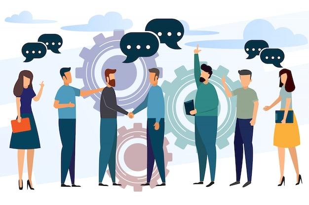 業務提携およびリーダー
