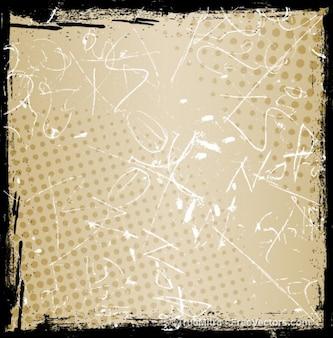 Грубая текстура полутонов