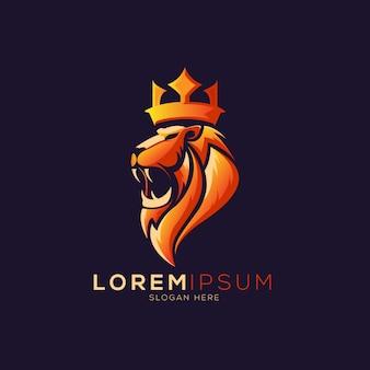ライオンの王冠ロゴ