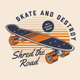 Классический скейтборд