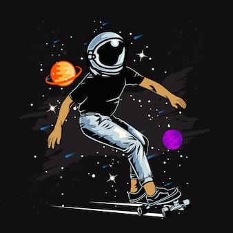 Космический конькобежец