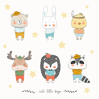 かわいい赤ちゃん動物コレクション