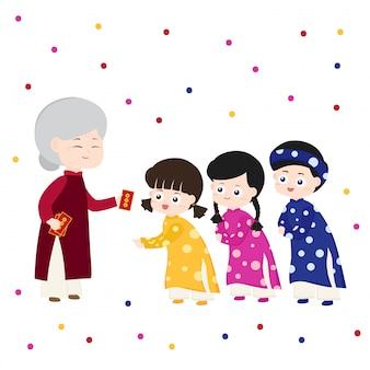Китайский новый год счастливые деньги
