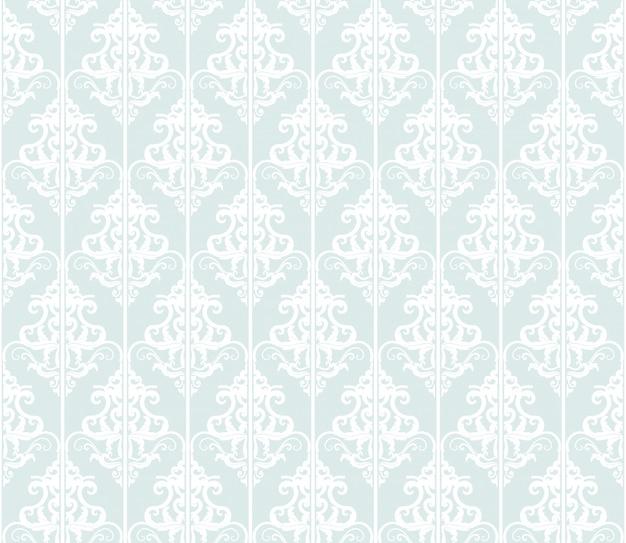 ダマスク織のシームレスなパターンまたは背景。