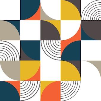バウハウス抽象メンフィスの背景