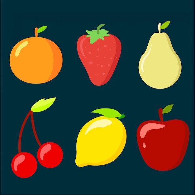 フルーツアイコンコレクション