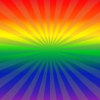 抽象的な虹色の背景