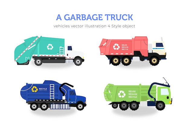 Комплект мусоровозов