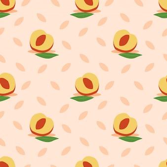 Персик бесшовные модели.