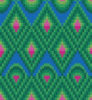 トライバルアズテックシームレスパターン
