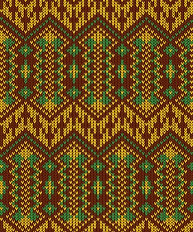 トライバルアステカ抽象的なシームレスパターン