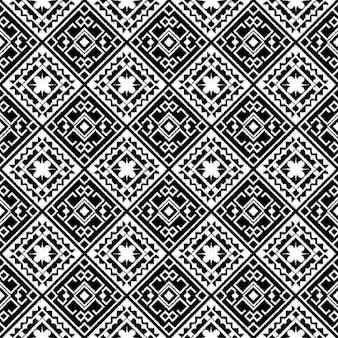 抽象的な部族アステカシームレスパターン