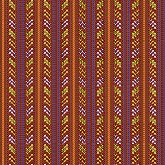 ビンテージニットパターン