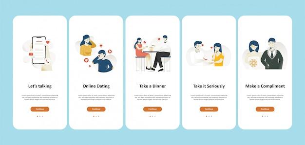 Концепция приложения для онлайн знакомств