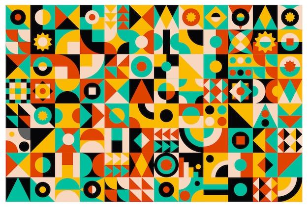 Абстрактный фон контрастного цвета
